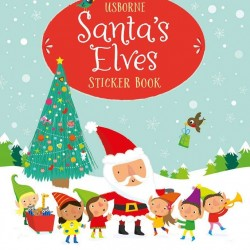 Santa's elves Christmas sticker book, Usborne