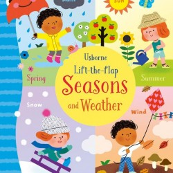 Carte cu multe clapete pentru copii curiosi, Lift-the-flap seasons and weather, Usborne