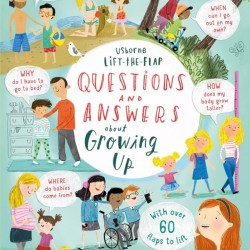 Carte cu multe clapete pentru copii curiosi, Questions and answers about growing up, usborne