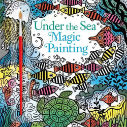 Carte de pictat doar cu apa, Under the sea magic painting book