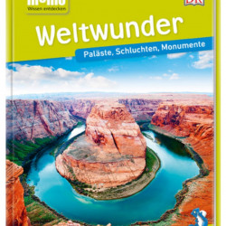 Carte in limba germana, Minunile lumii, memo Wissen entdecken, Weltwunder, DK, 8+