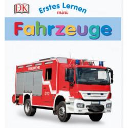 Carte in limba germana, primele cuvinte, vehicule, Erstes Lernen mini, Fahrzeuge, DK, 12+