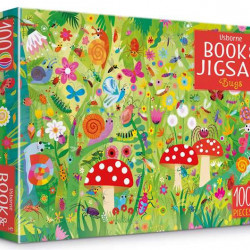 Carte și puzzle, Bugs puzzle book and jigsaw, usborne