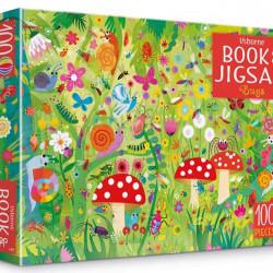 Carte și puzzle, Bugs puzzle book and jigsaw, usborne