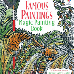 Famous Paintings Magic Painting Book, Rosie Dickins, Usborne