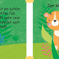 Micuța mea carte textila cu puiuti de animale, Mein kleines Stoffbuch, Tierkinder, dK