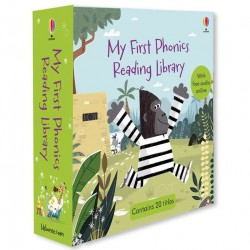 My first phonics reading library, usborne