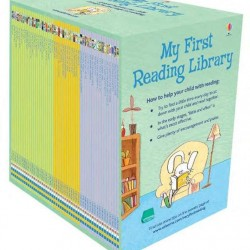 O colectie impresionanta, My first reading library, 50 de carti cu povesti pentru copii in limba engleza, usborne