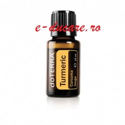 Ulei esential Turmeric, doterra, 15ml, plus carte in format electronic