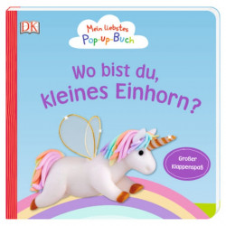 Carte 3D / pop-up, Unde esti micutule unicorn? Mein liebstes Pop-up-Buch, Wo bist du, kleines Einhorn? dK