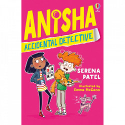 "Carte ""Anisha, Accidental Detective"", 7 ani+, Usborne"