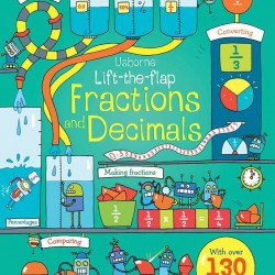 Carte cu multe clapete pentru copii curiosi, Lift the flap fractions and decimals