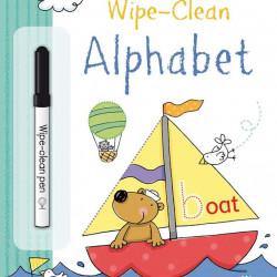 Carte de tip scrie și șterge la nesfârșit wipe-clean alphabet