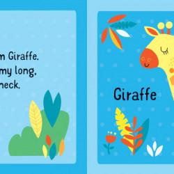 Carte si puzzle, Usborne First Jigsaws: Animals, Matthew Oldham, 2+