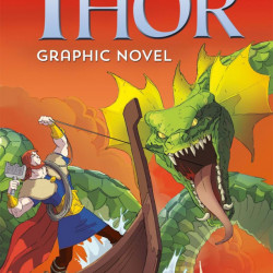 "Carte ""The Adventures of Thor graphic novel"" , 7 ani+, Usborne"