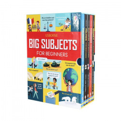 Colectie 5 carti Usborne Big Subjects For Beginners 5 Books Collection Box Set, Louie Stowell, 8+