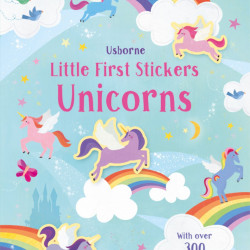 Little First Stickers Unicorns, Usborne, 3+