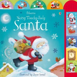 Noisy touchy-feely Santa, carte sonora Usborne