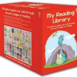 O colectie impresionanta de 50 carti de citit in limba engleza, my reading Collection, usborne