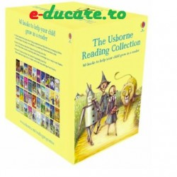 Set usborne pentru copii, 'The usborne reading collection', 40 de carti