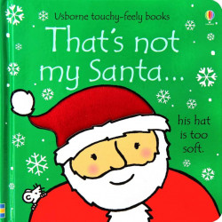 That's not my santa...christmas, usborne
