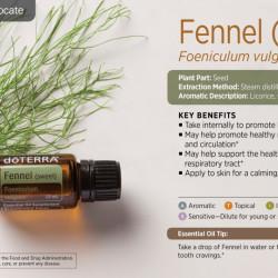 Ulei esential fennel, fenicul, 15ml, Doterra