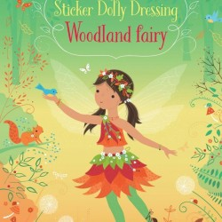Woodland fairy little sticker dolly dressing