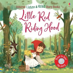 Asculta si citeste, listen and read, Little Red Riding Hood