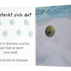 Carte in limba germana, cine se ascunde? Wer versteckt sich da, Im Zoo, dk, 1+