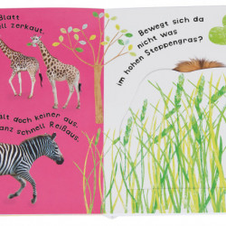 Carte in limba germana, sonora cu clapete, Klang Klappenbuch, Tiere , dK, 18+