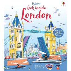 "Carte ""Look inside London"", 4 ani+, Usborne"