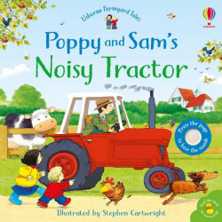 Carte sonora Poppy and Sam's Noisy Tractor, Usborne