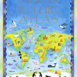 Children's picture atlas, Usborne