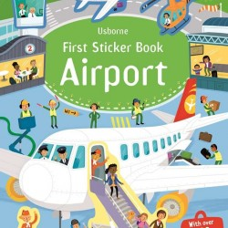 First sticker book airport, usborne