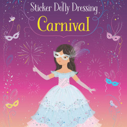 Little Sticker Dolly Dressing Carnival, Usborne, 3+