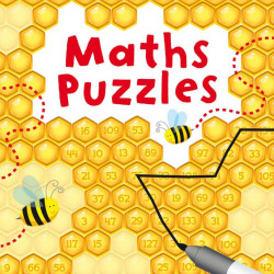 Pachet de carduri wipe and clean, de tip scrie si sterge, Maths Puzzles