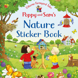 Poppy and Sam's Nature Sticker, Book Kate Nolan, Usborne