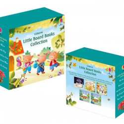 Set 5 cărți pentru copii, Little Board Books Collection, usborne, 1+