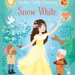 Snow white little sticker dolly dressing, usborne