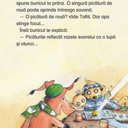 Tafiti si focul din savana, Universul enciclopedic junior