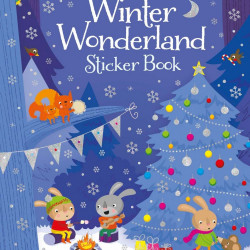 Winter wonderland sticker book, Usborne