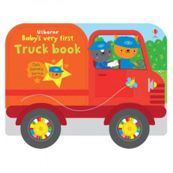 "Carte ""Baby's very first truck book"", 1 an +, Usborne"