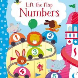 Carte cu multe clapete pentru copii curiosi, Lift the flap numbers