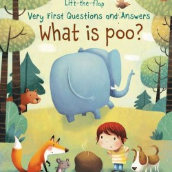 Carte cu multe clapete pentru copii curiosi, Lift the flap very first question and answers, What is poo?, usborne