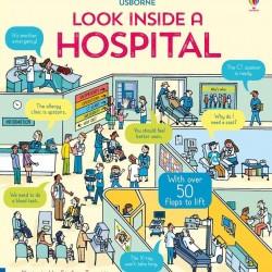 Carte cu multe clapete pentru copii curiosi, Look inside a hospital
