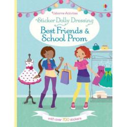 """Carte de activitati """"Best friends and school prom"""" de Fiona Watt, 5 ani+, Usborne"""