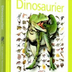 Carte in limba germana, despre dinozauri, memo clever dinosaurier, 8+, dK