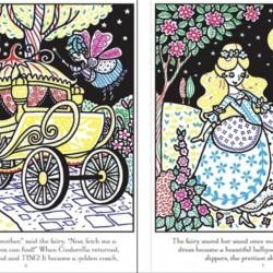 Carte magica de pictat doar cu apa, Magic painting Cinderella, usborne