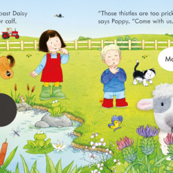 Finger puppet book, Poppy and Sam and the Lamb, Sam Taplin