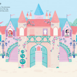 First Sticker Book Princesses, Usborne, 3+